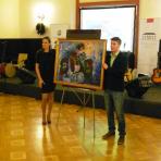 'Fázók' - Sala Lieber, a jótékonysági est kezdeményezője által árverésre felajánlott alkotás ()
