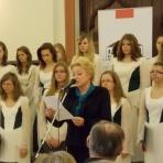 Járainé dr. Bődi Györgyi, a Vörösmarty Mihály Ének-zenei Nyelvi Általános Iskola és Gimnázium igazgatója ()