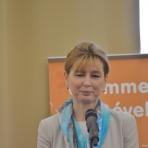 Herczegh Anita, a köztársasági elnök felesége ()